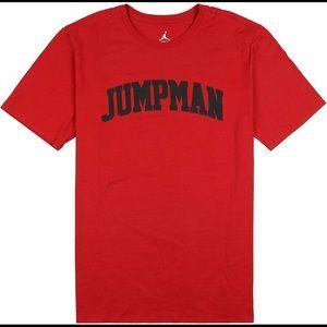 Nike Air Jordan Jumpman Wordmark Graphic T-shirt